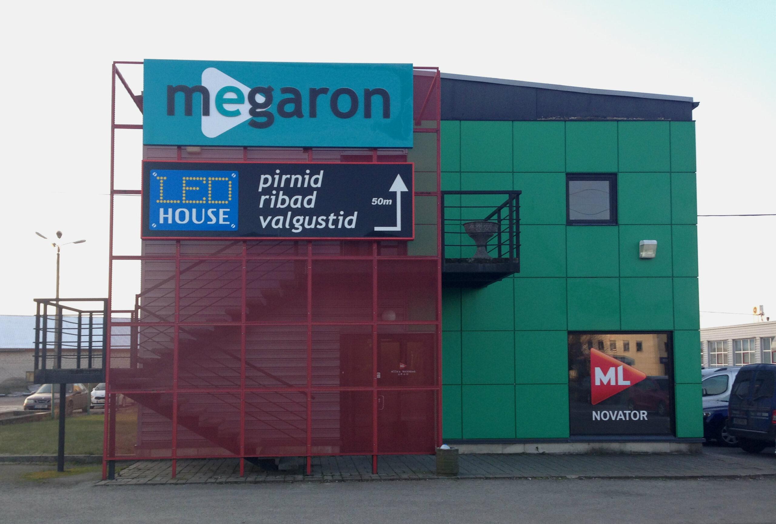 AS Megaron piksekaitse ja maanduse paigaldus